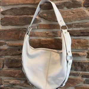 White Leather HOBO bag